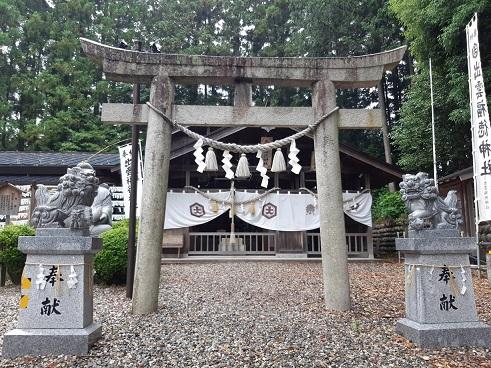 出雲福徳神社の鳥居