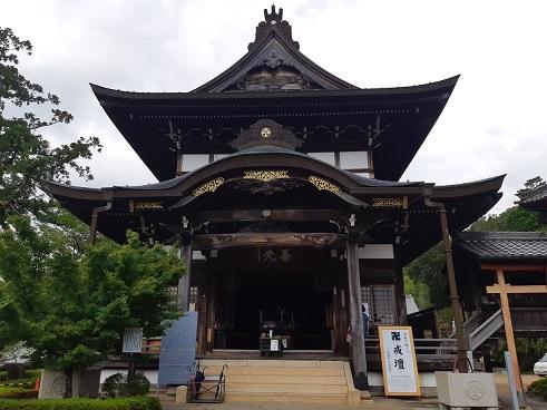 関善光寺の本堂
