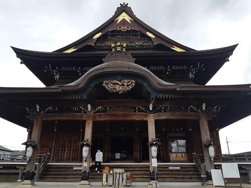 祖父江善光寺の本堂