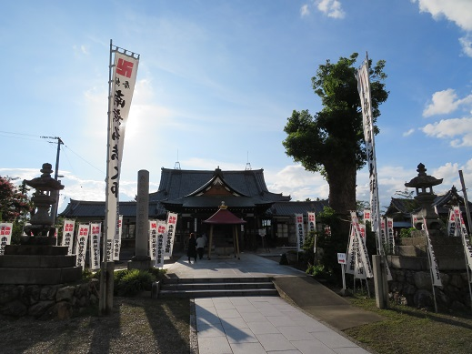 鏡島弘法の境内