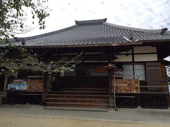 海上寺の本堂
