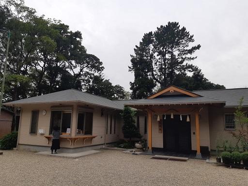 富部神社の納経所