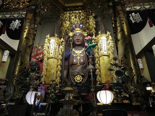 金龍寺の十一面観世音菩薩