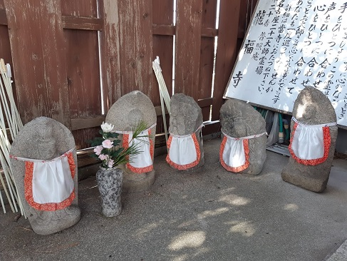 龍福寺のお地蔵さま