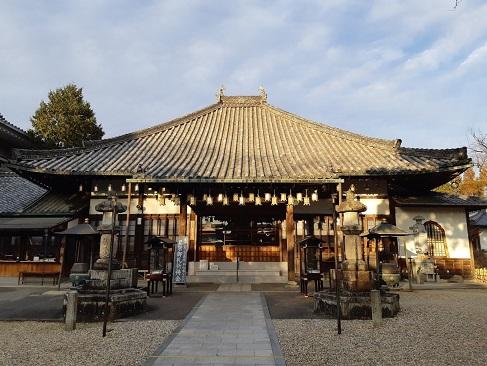 八事山興正寺の西山本堂
