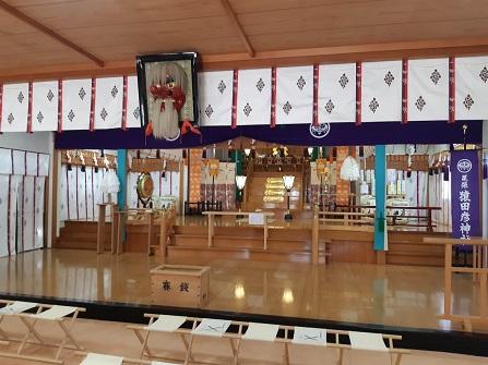 尾張猿田彦神社の本殿