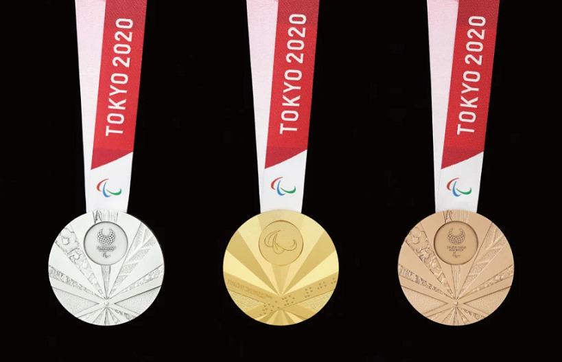 東京パラリンピック金銀銅メダル