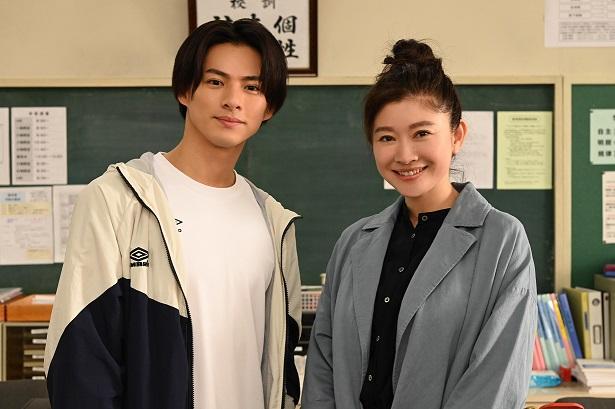 平野紫耀と篠原涼子(24時間テレビ)